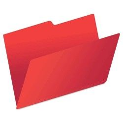 Folder Oficio color Rojo