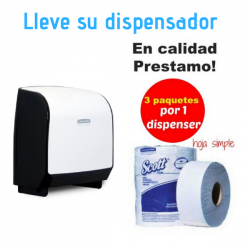 Solicite Dispensador papel Higienico