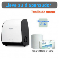 Solicite su dispensador Papel Toalla