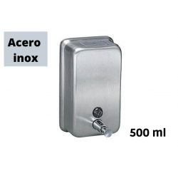 Dispensador 500ml Acero Inox Jabon liquido