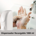 Dispensador Jabon Recargable 1000 ml