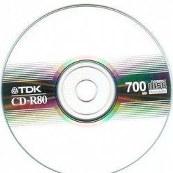 CD Regravable TDK